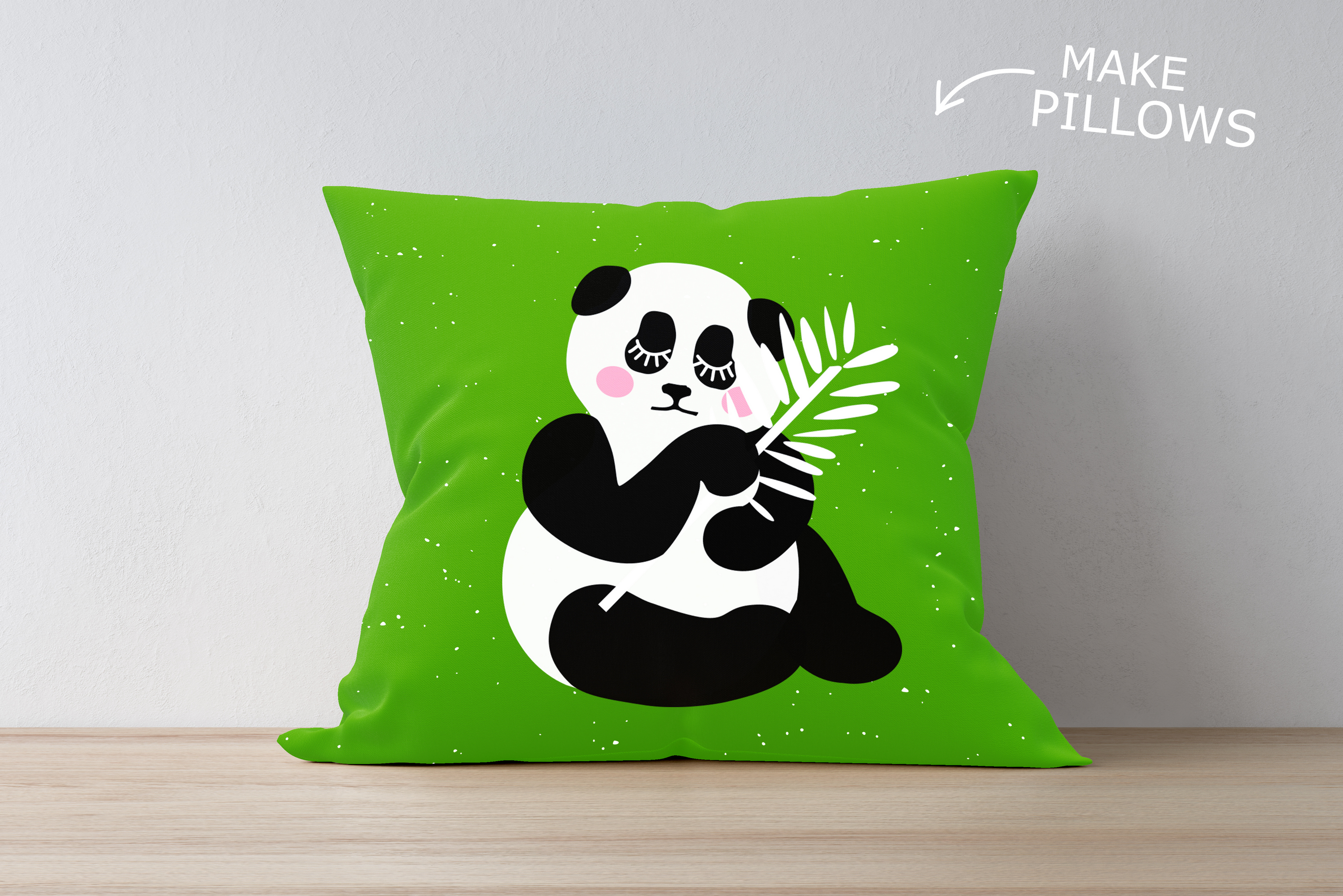 Panda Bundle SVG DXF EPS PNG example image 2