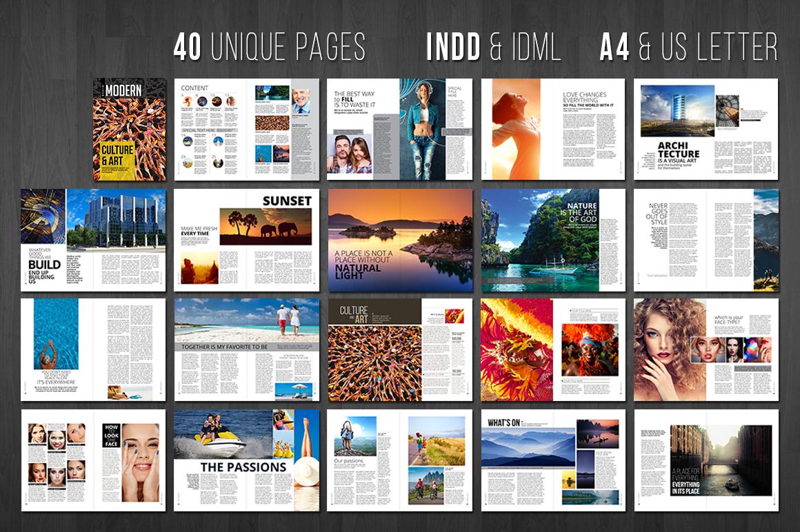 Modern Magazine example image 2