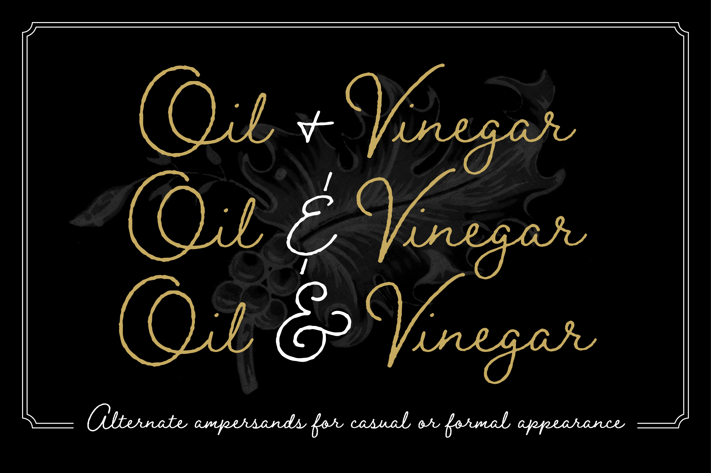 Braisetto Font Family example image 11