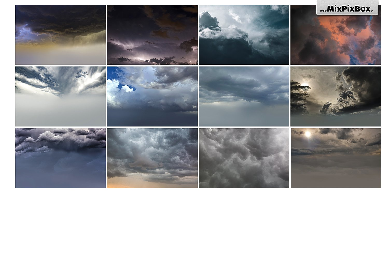 Stormy Sky Overlays example image 8