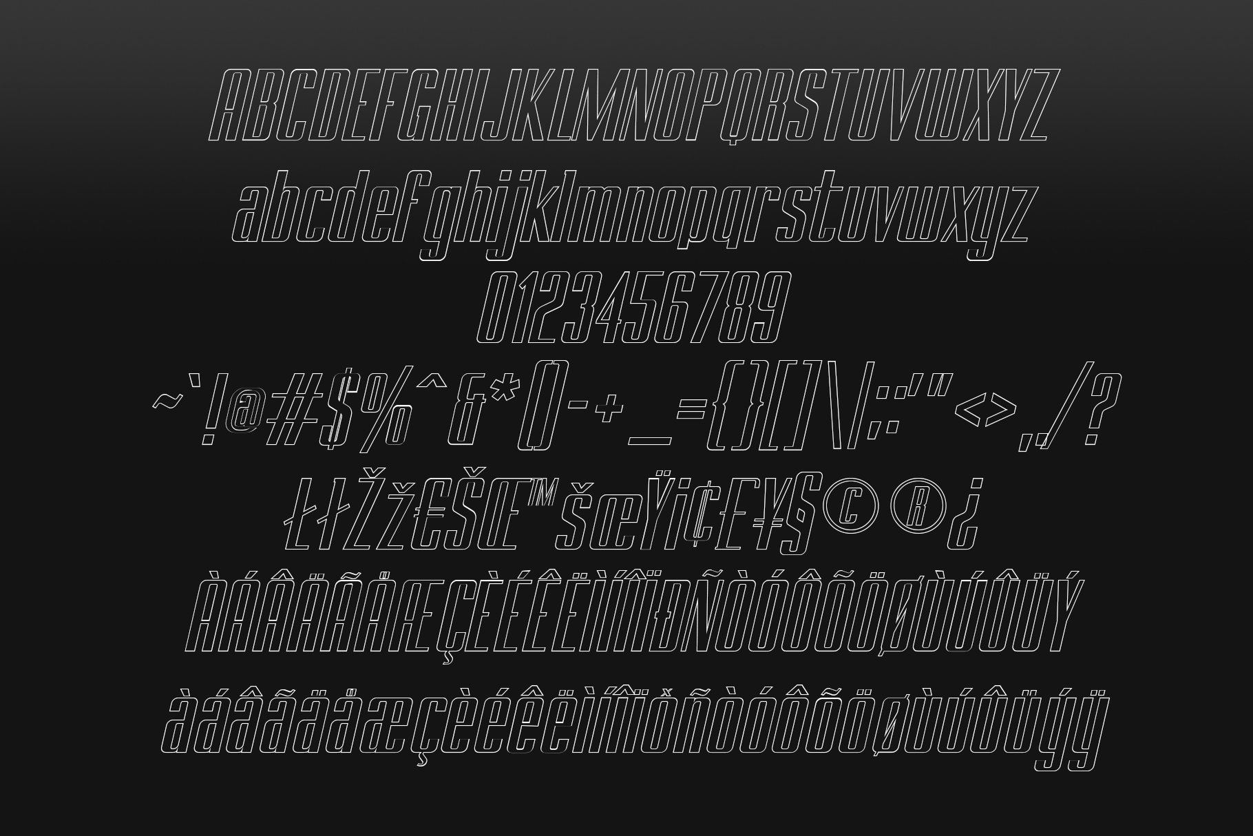 BRANCHE - Display Font example image 14