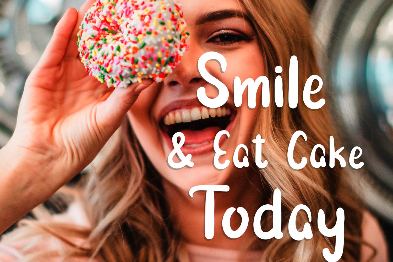 Morning Cake - Fun Font example image 5