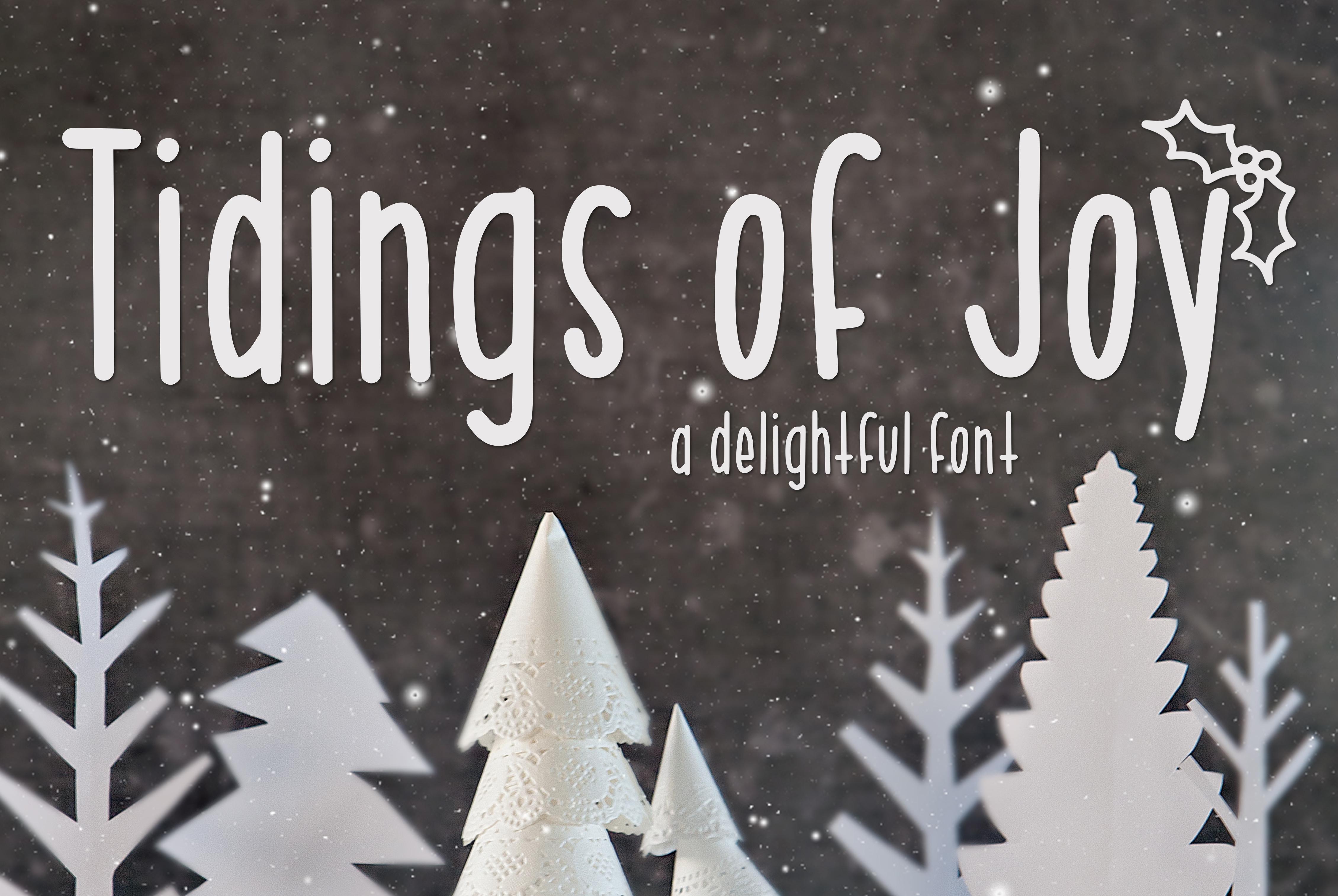 Tidings of Joy example image 1