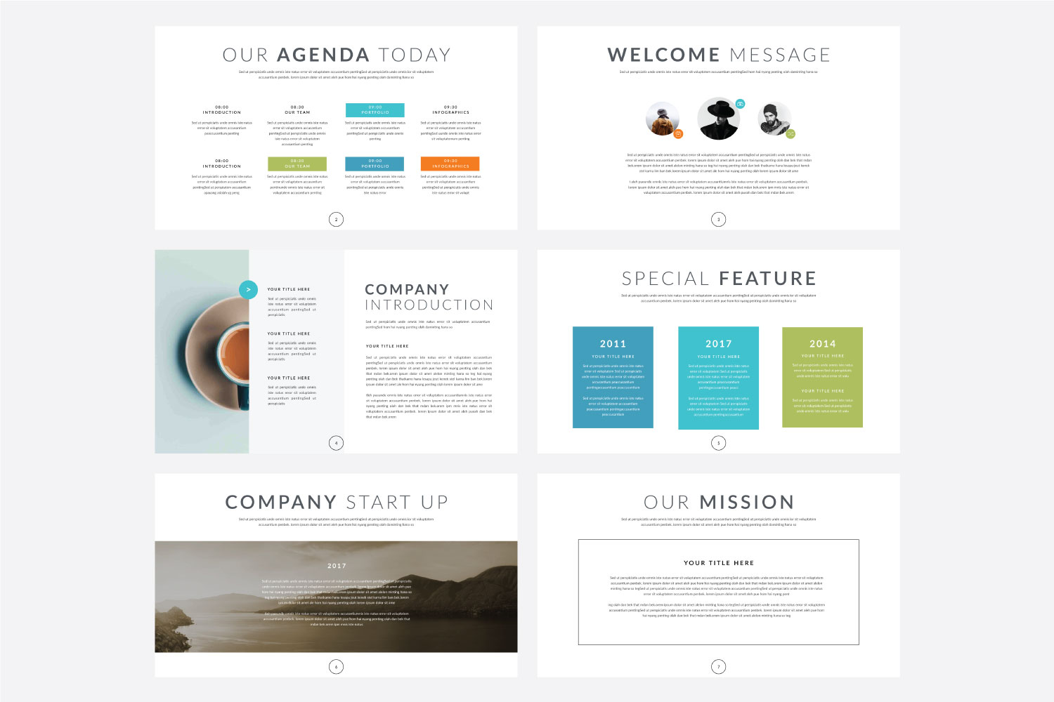 Phylox Powerpoint template example image 2