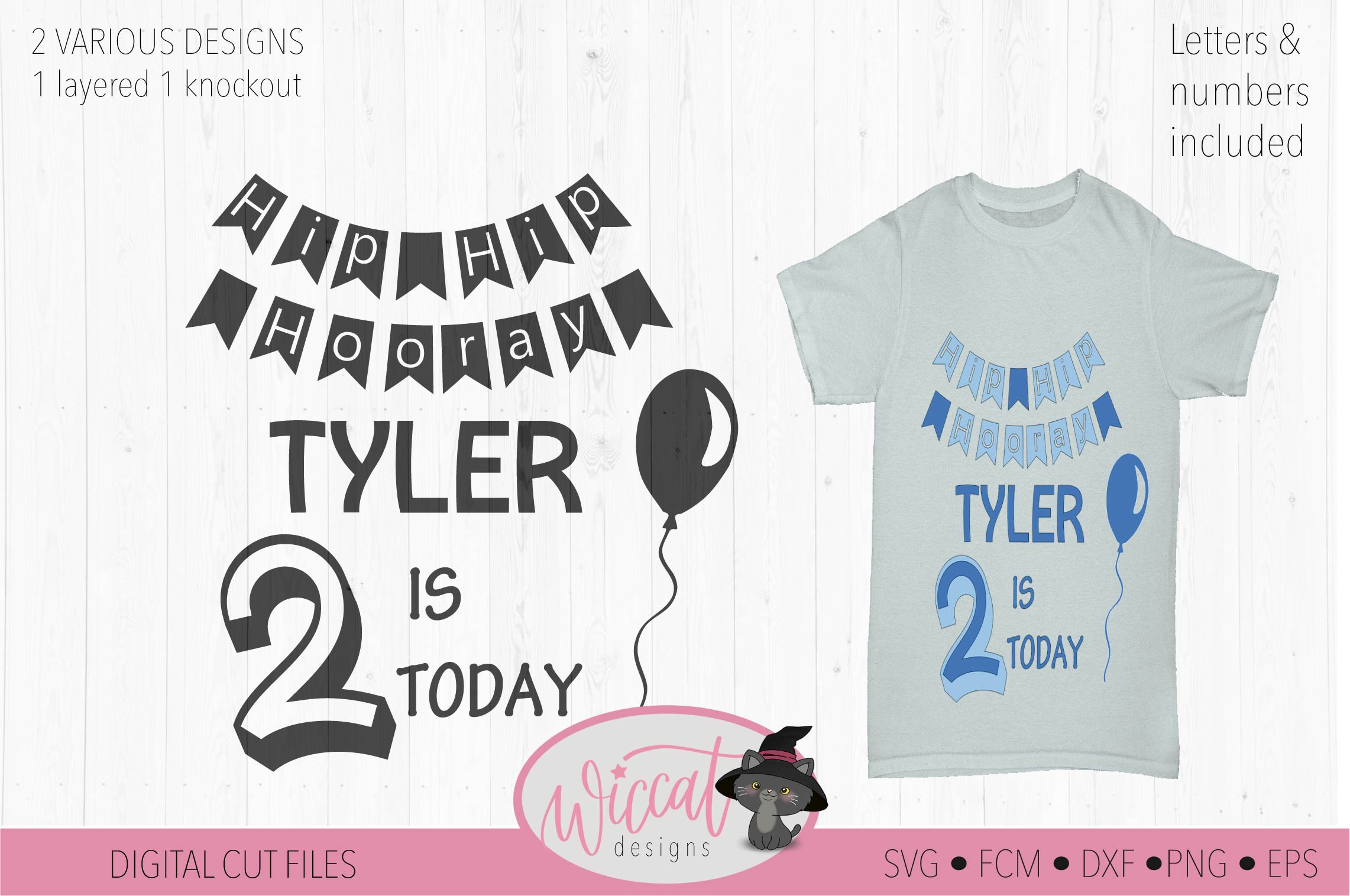 Happy birthday svg, banner svg, ages 1 to 9 cut file example image 2