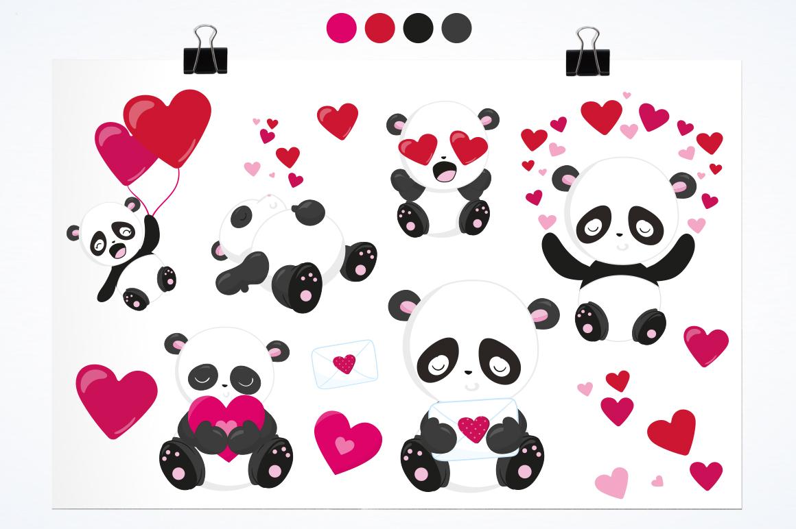 Panda Bear graphics and illustrations example image 2