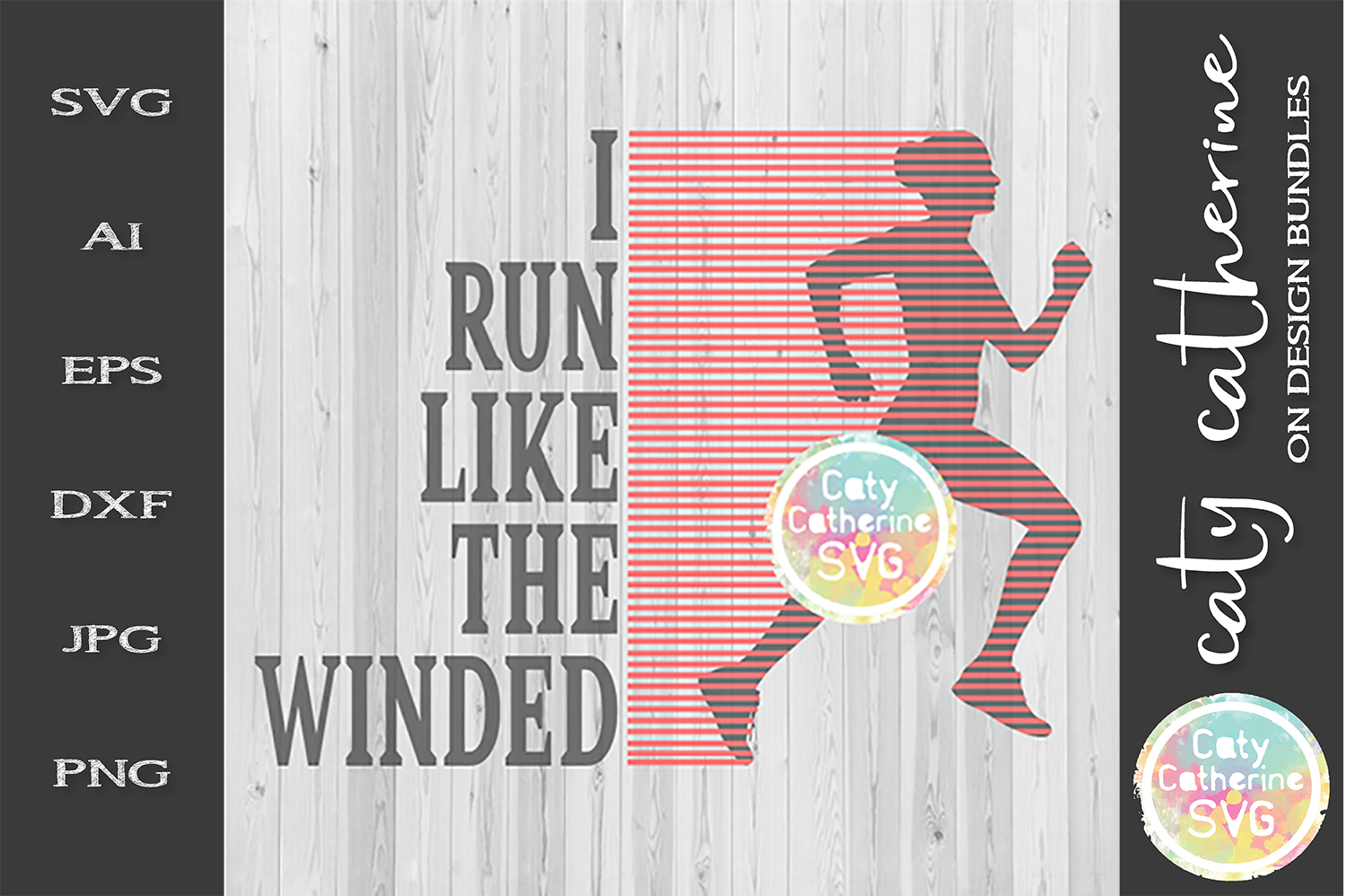 I Run Like The Winded SVG Cut File example image 1