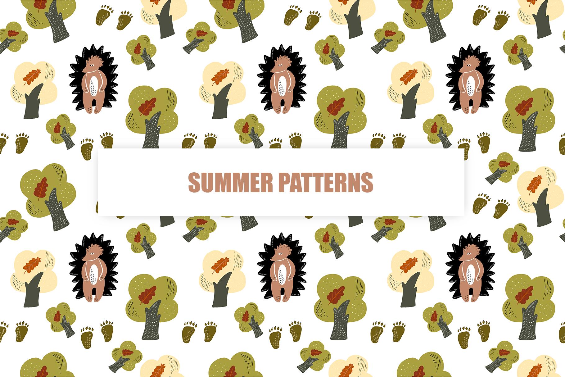 Summer Walk Kids vector clipart, vector baby nursery clipart example image 6