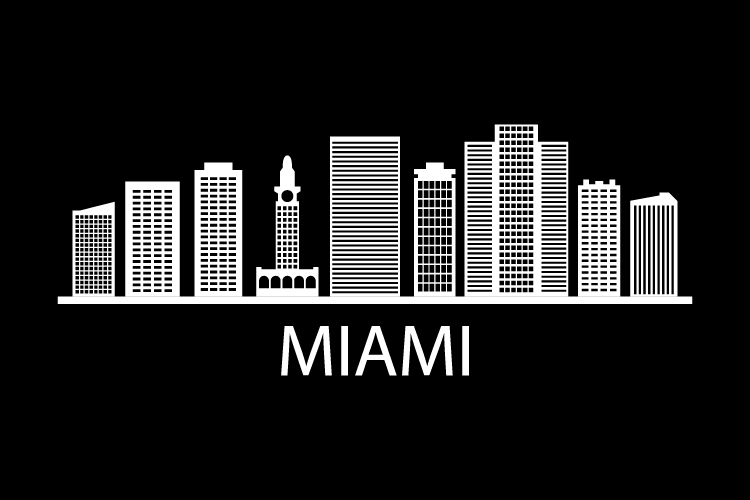 Miami skyline example image 1