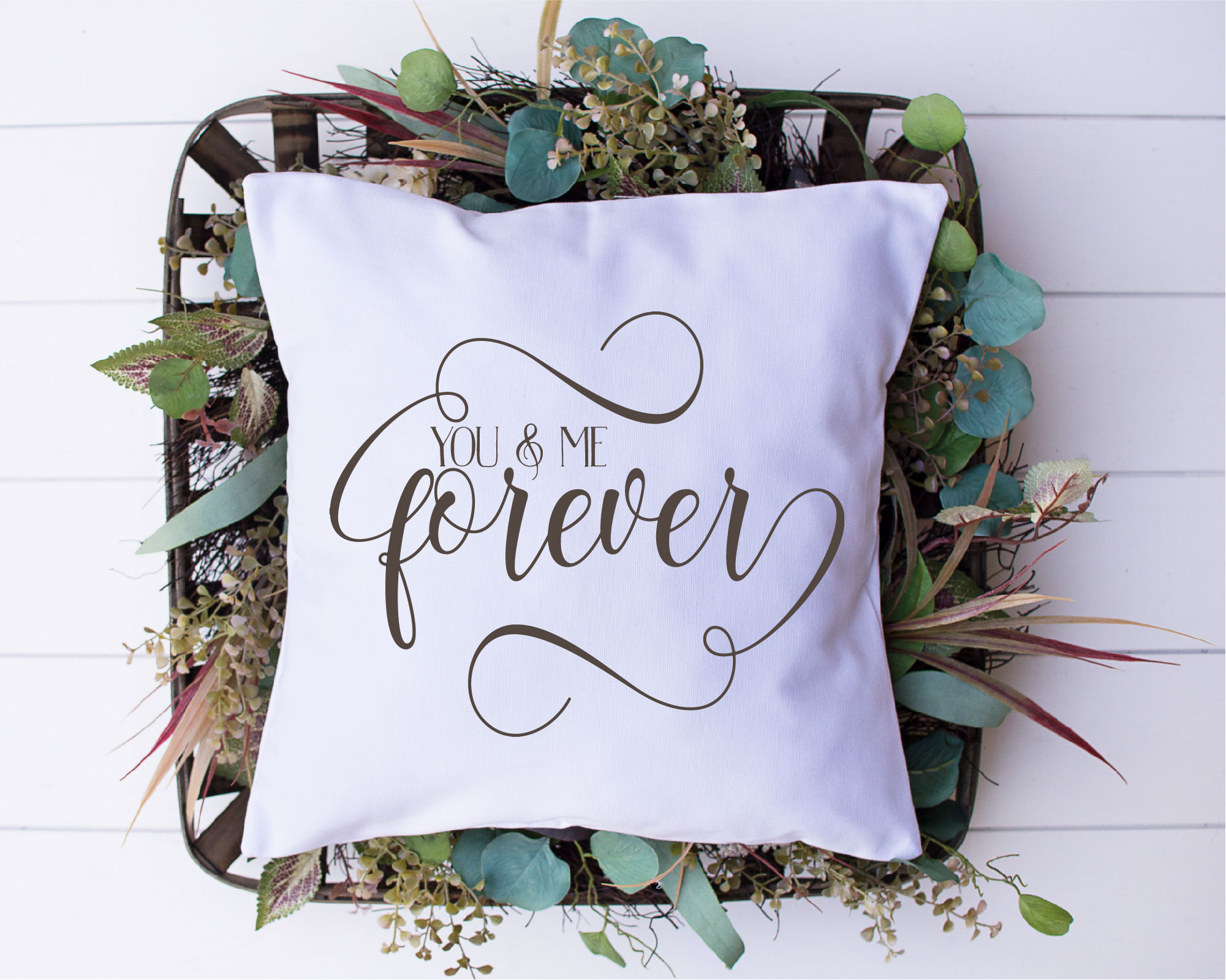 You And Me Forever SVG, Wedding, Love, Sublimation example image 2
