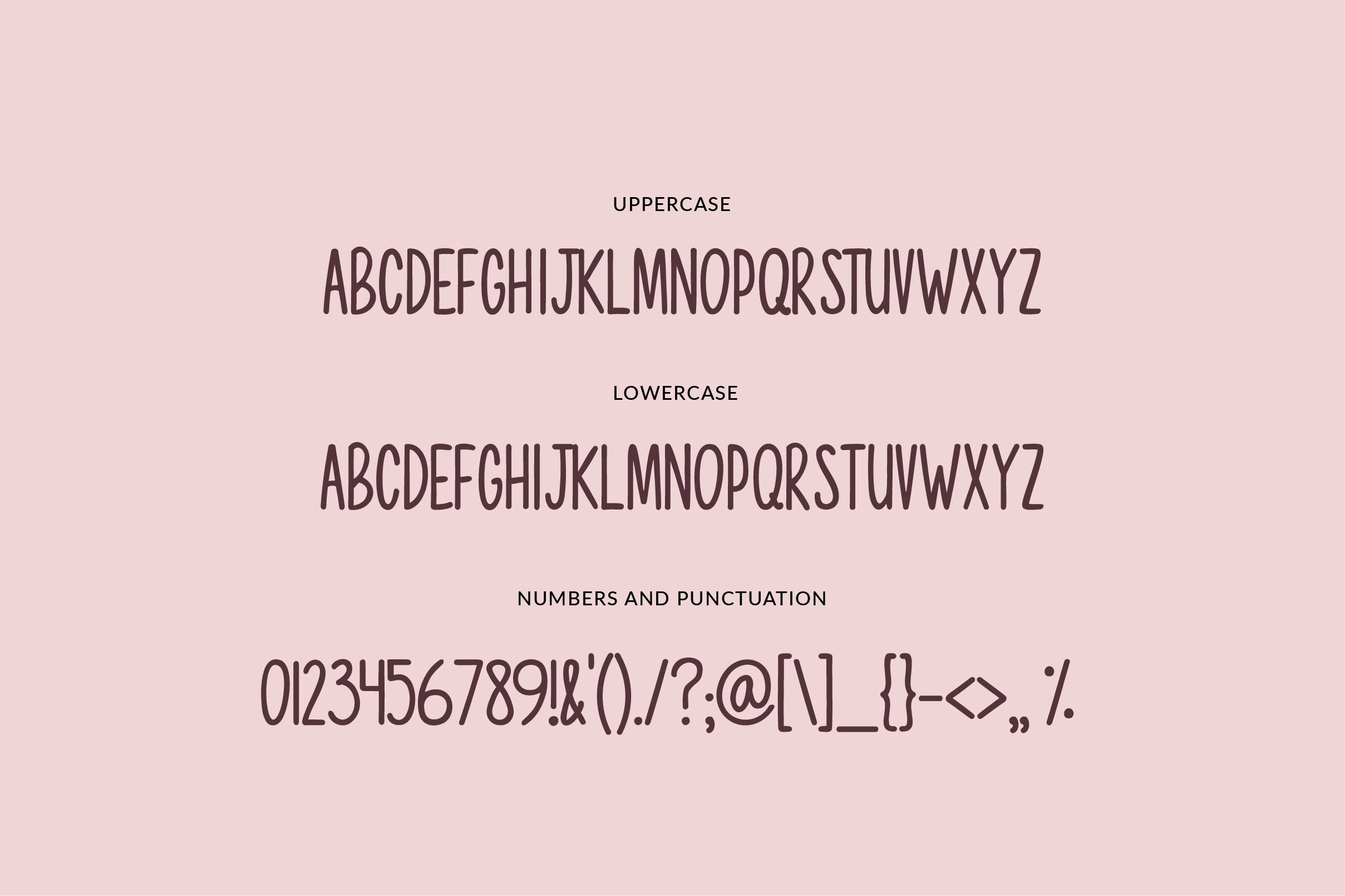 Mostly Sunshine Font Duo example image 8