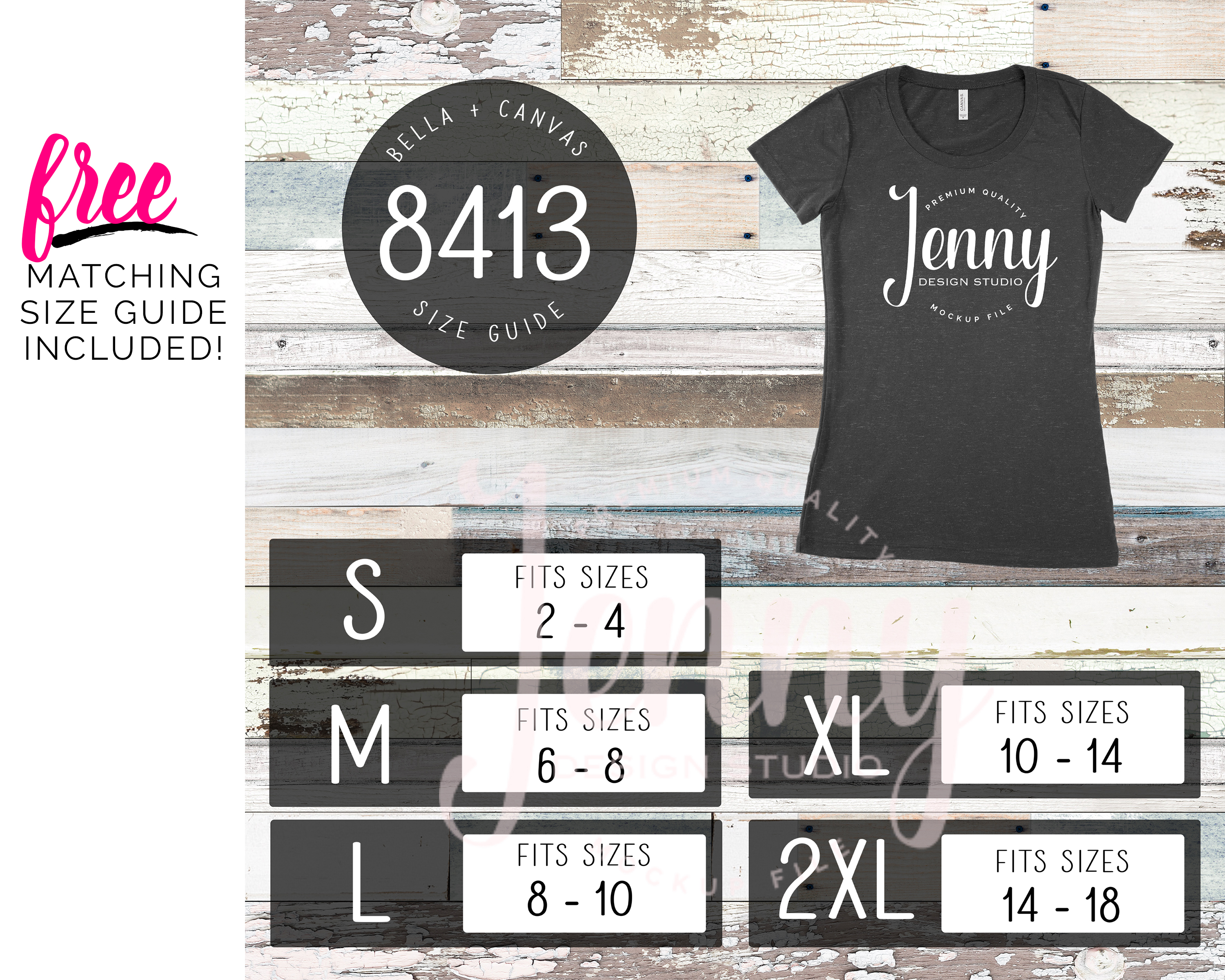 Bella Canvas 8413 Mockup Bundle, Triblend Tshirt Mockup example image 2