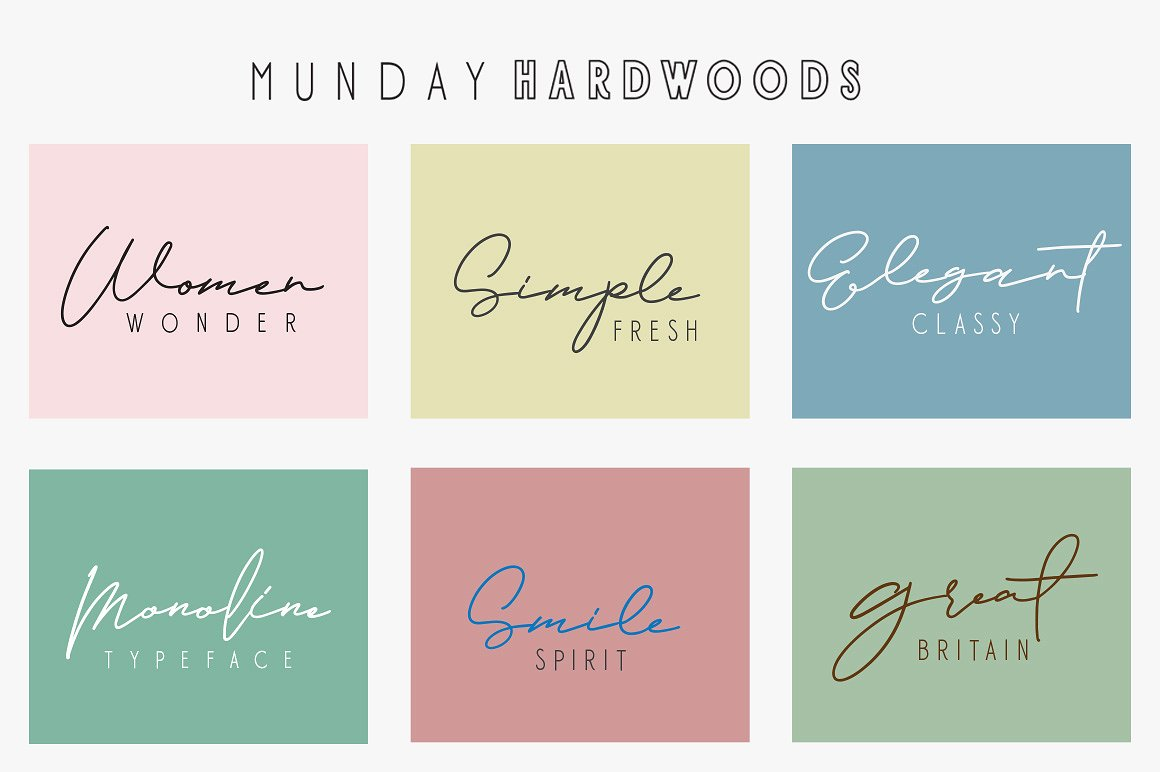 Jamsuit Font Duo example image 7