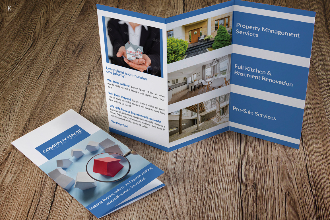 Real Estate Trifold example image 3