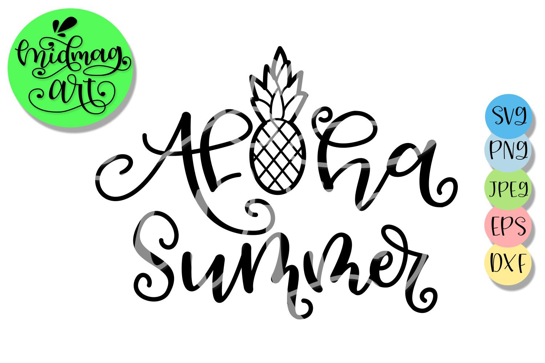 Aloha summer svg, Summer svg example image 2