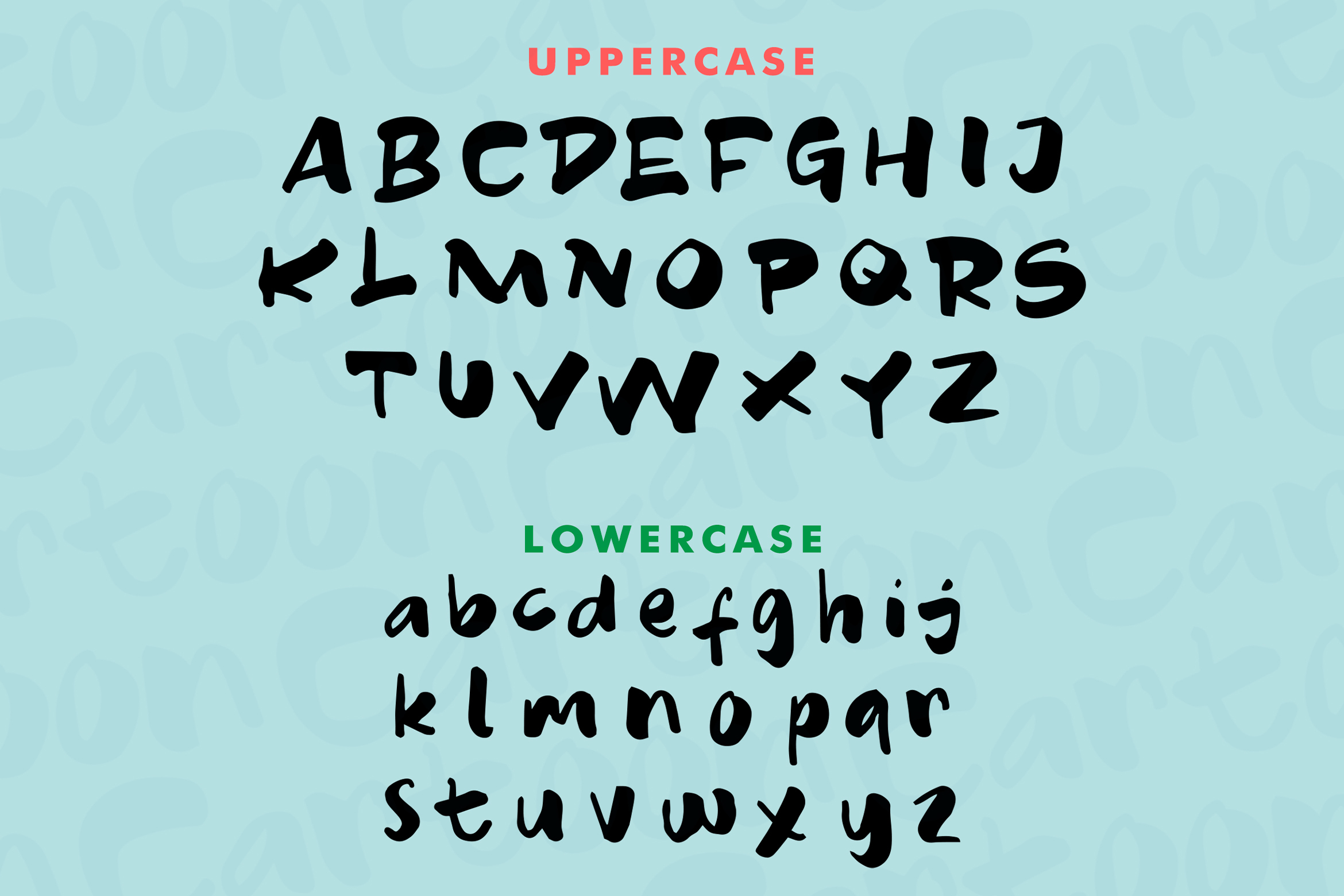 Cartoon - Fancy Font example image 11