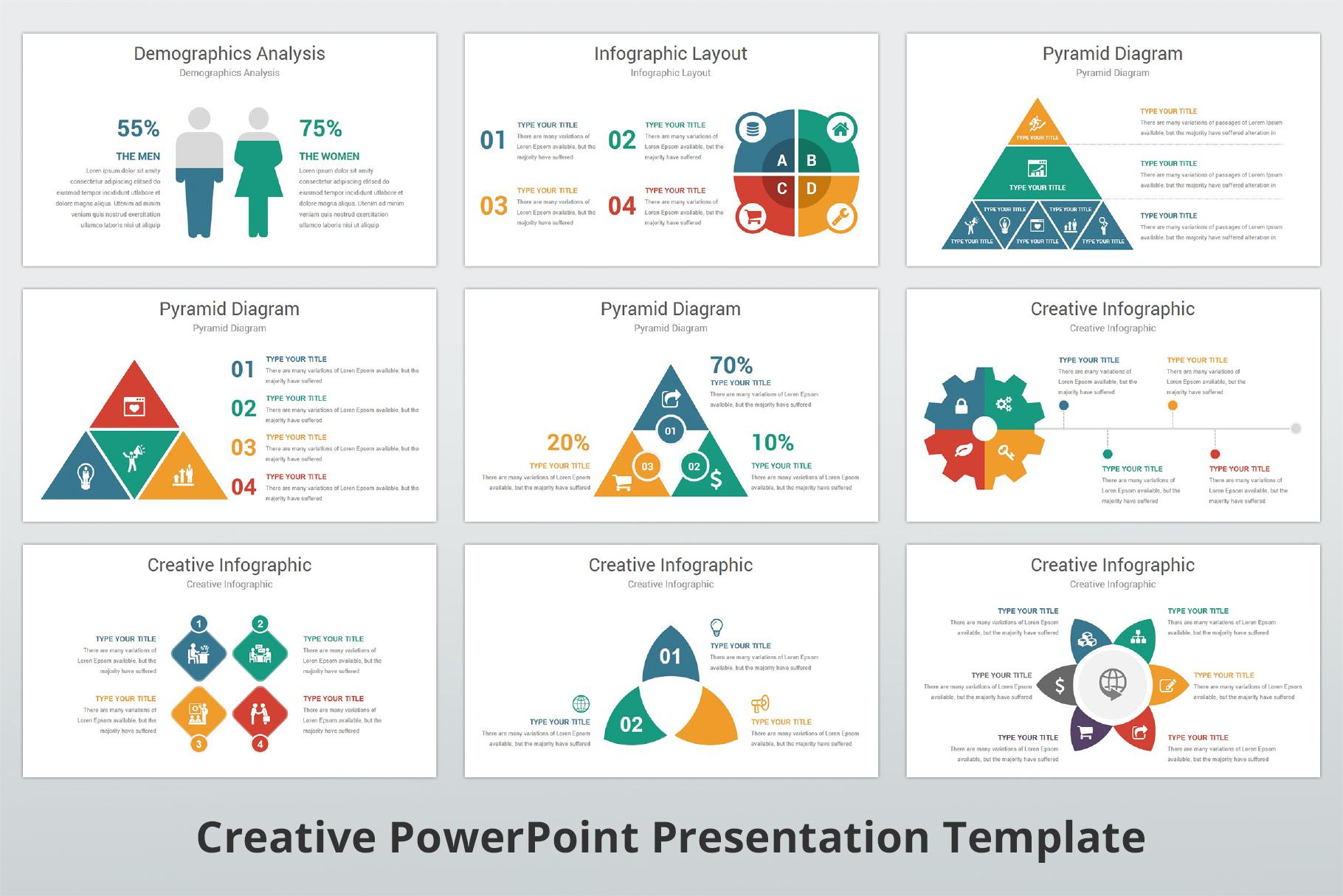 Creative multipurpose PowerPoint Presentation Template example image 14