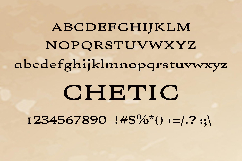 150 Premium Vintage Fonts example image 15