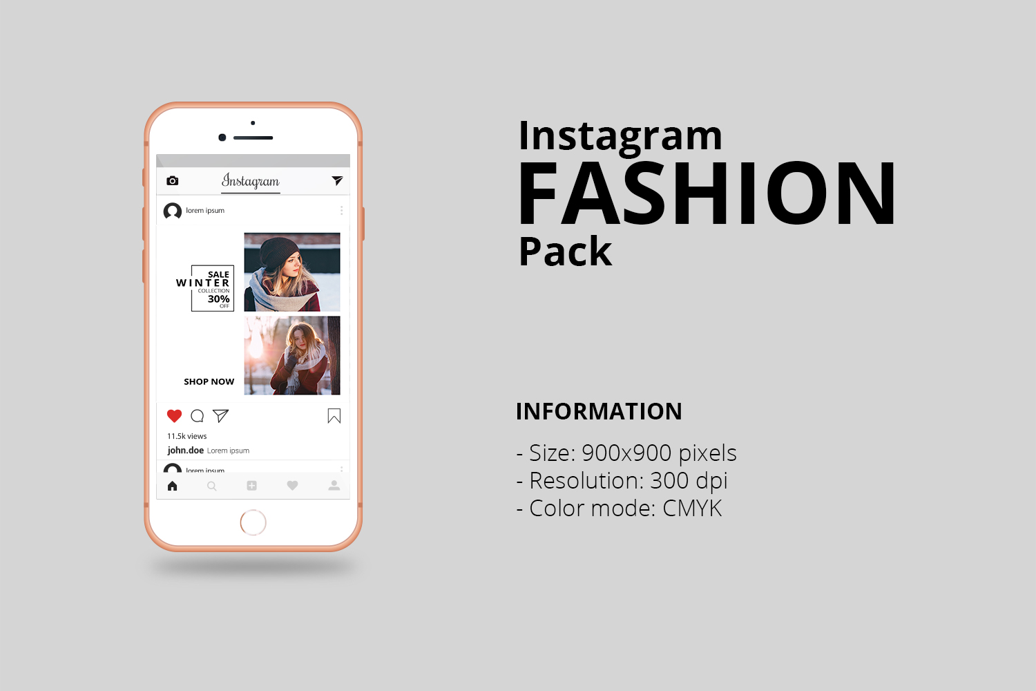 Fashion Instagram Banner Pack example image 3