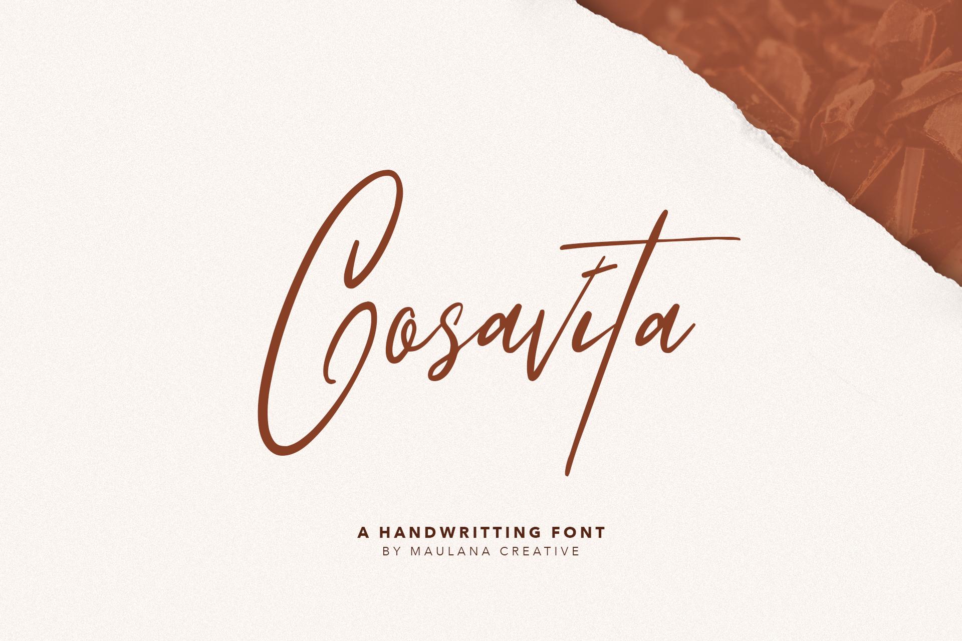 Osttrola Handwritting Font example image 5