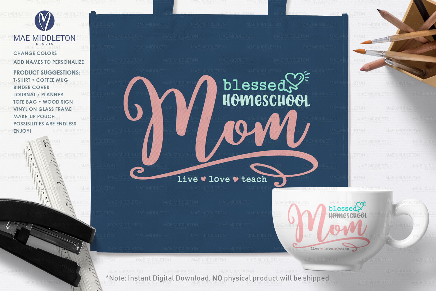 Blessed Homeschool Mom example image 2