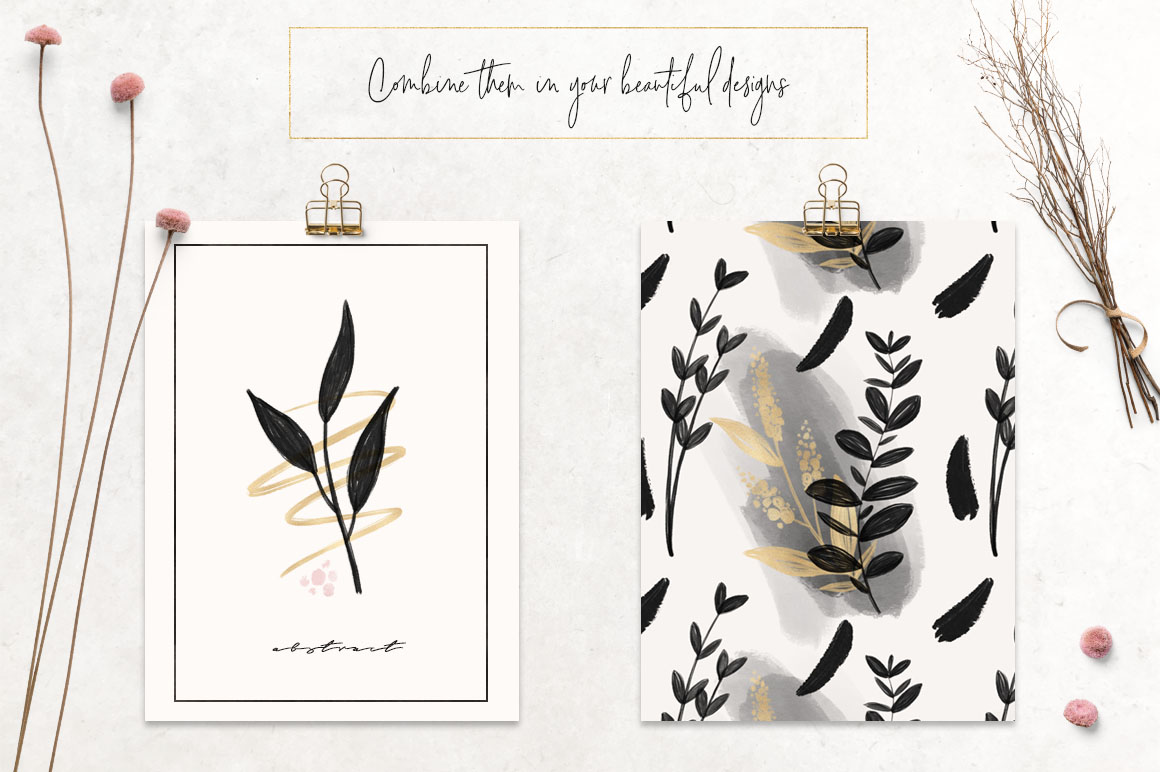 Charcoal, Gold & Blush Collection example image 7