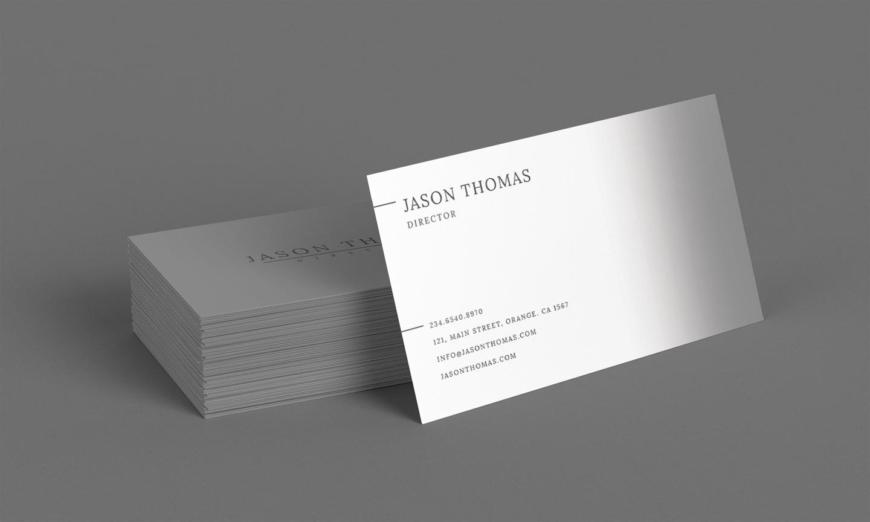 Bright Colour Beautiful Elegant Business Card 2 example image 1