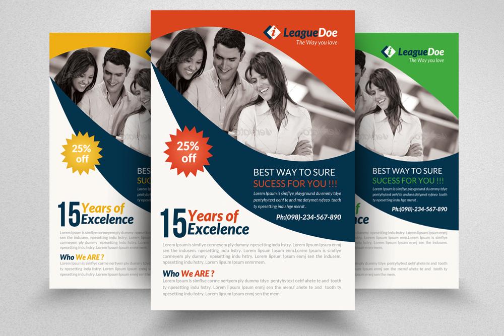 6 Multi Use Business Flyers Bundle example image 2