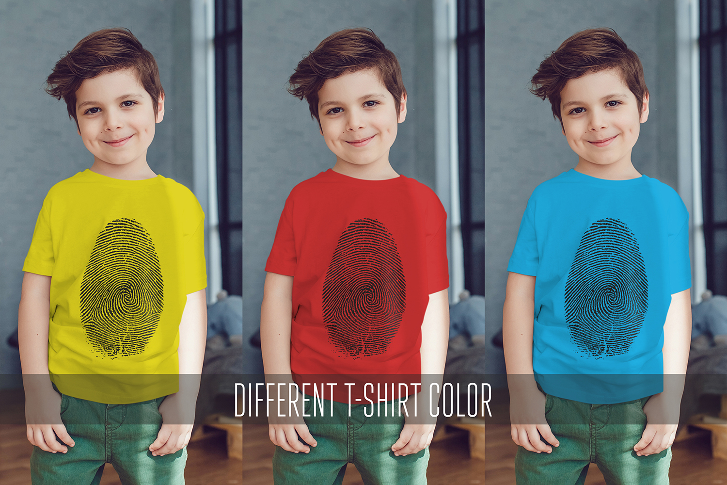 Kids T-Shirt Mock-Up Vol.2 2017 example image 11
