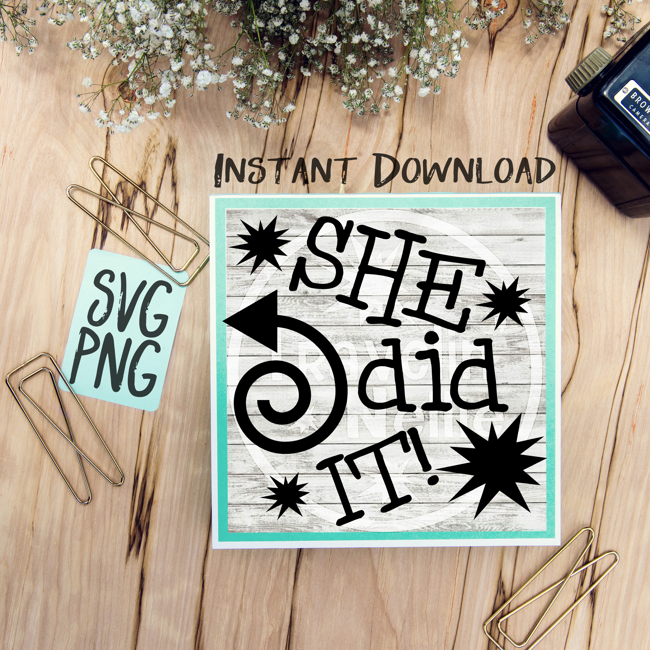 He Did It She Did It Twin Cousin Siblings SVG PNG Image Design for Cut Machines Print DIY Design Brother Cricut Cameo Cutout  example image 3