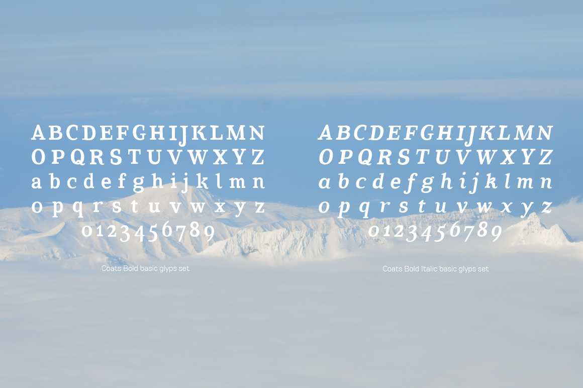 Coats Bold & Coats Bold Italic example image 5