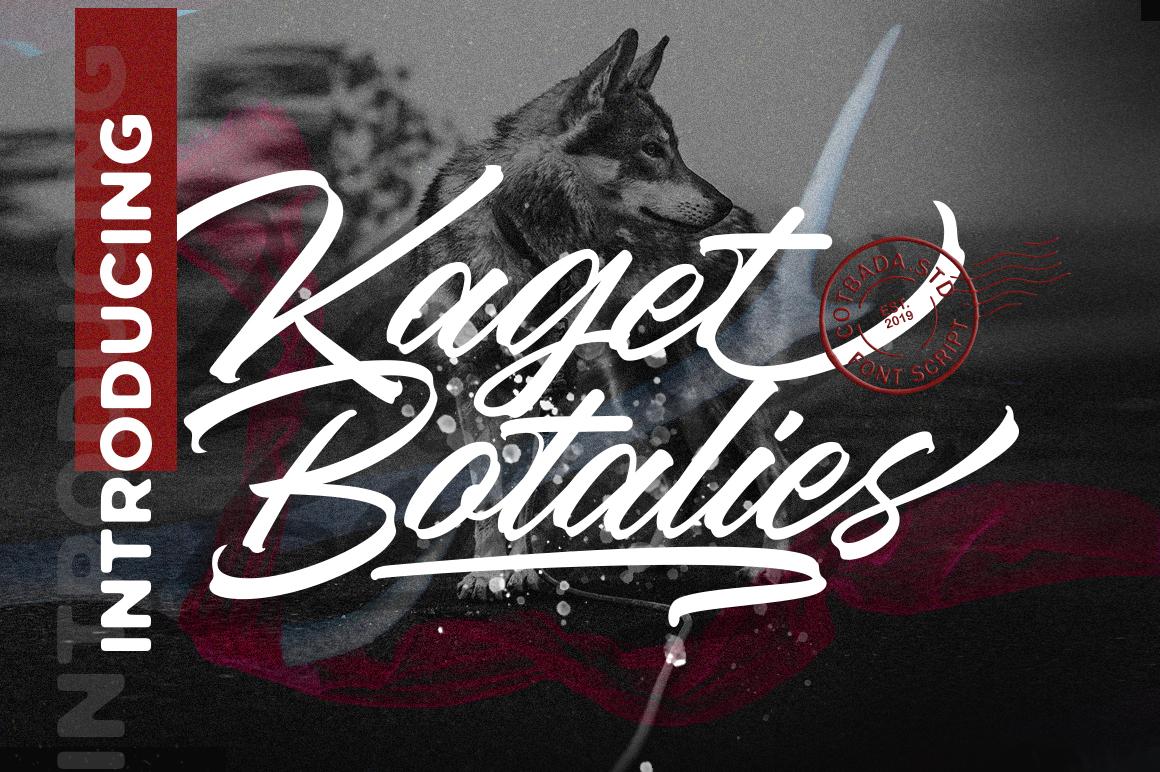 Kaget Botalies Script example image 1