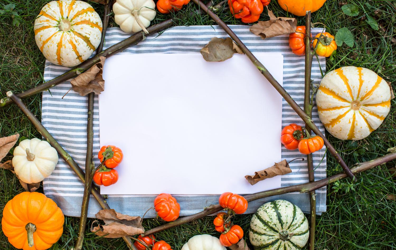 Autumn pumpkin mockup example image 1