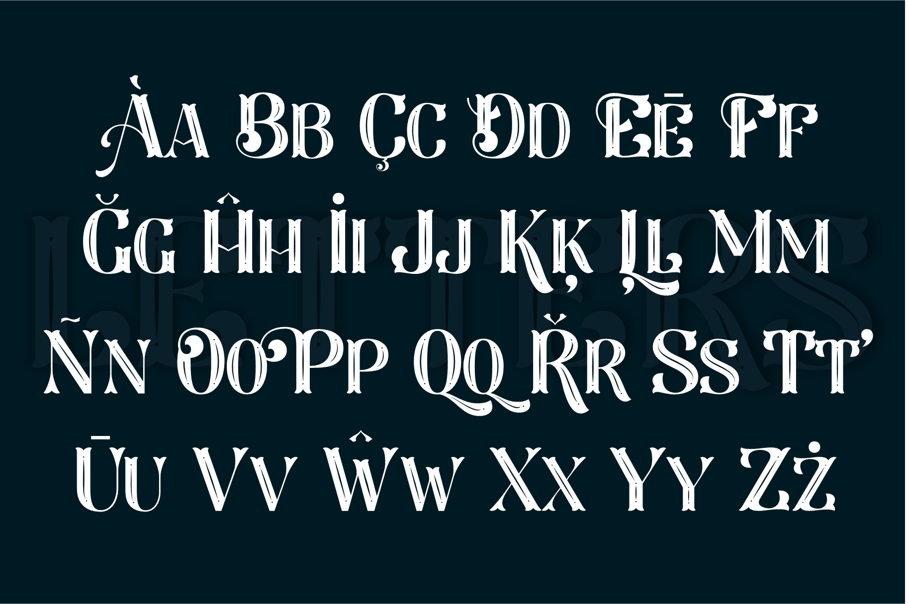 Larson Display Font example image 6