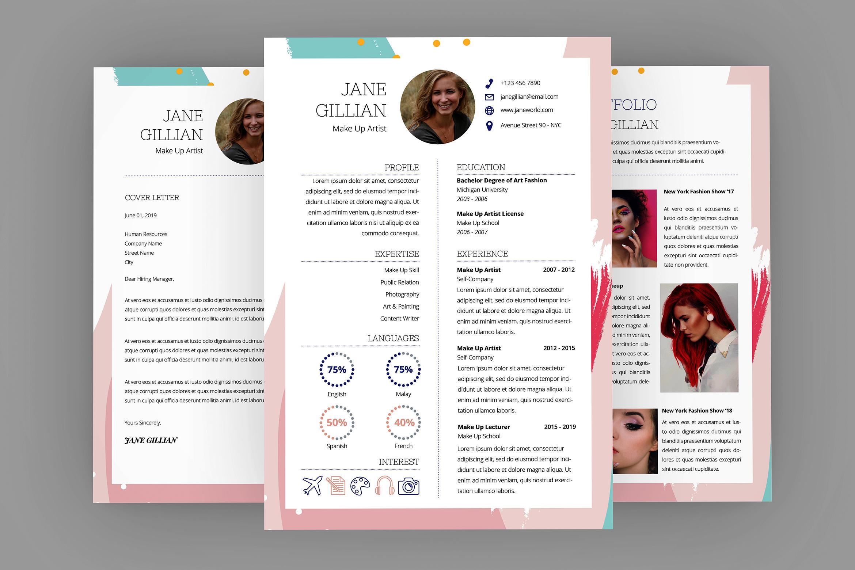 Dictionary Resume Designer example image 1