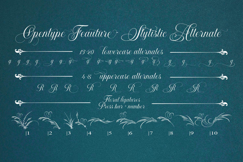 Khatija Calligraphy example image 2