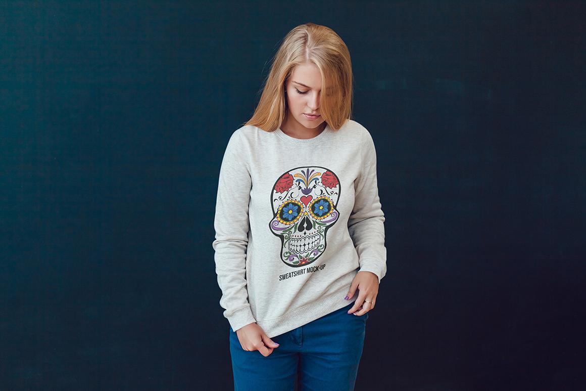 Sweatshirt Mock-Up Vol. 1 example image 8