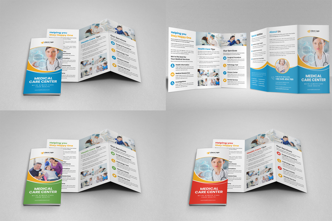 Medical HealthCare Brochure Bundle example image 18