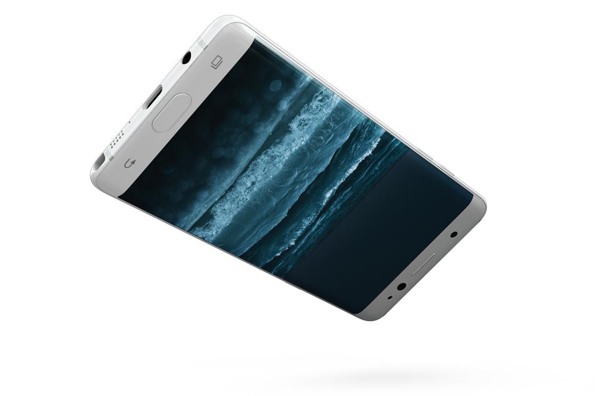 Samsung Galaxy Note 7 Gravity Mockup example image 14
