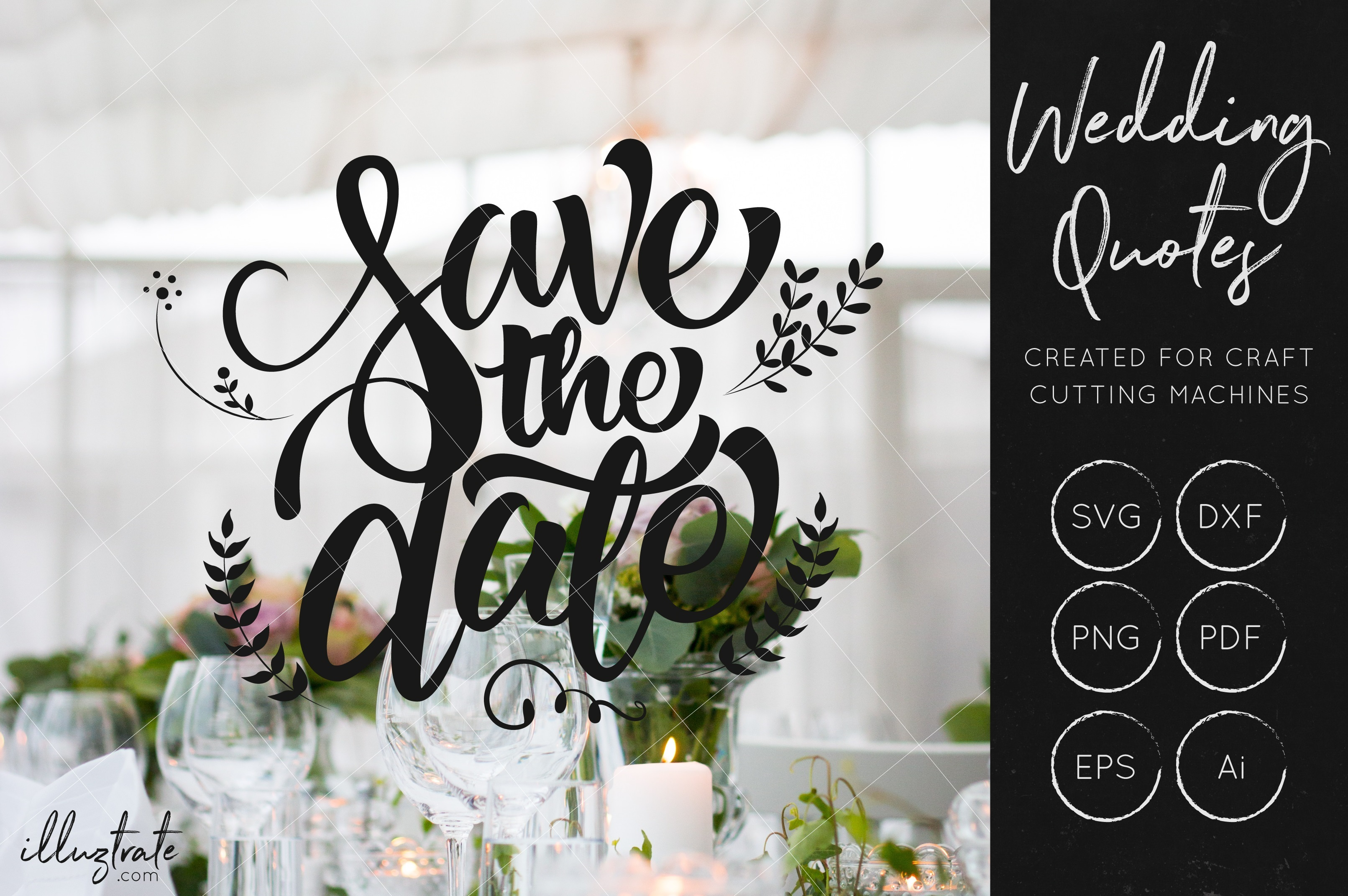 Wedding SVG Cut Files Bundle - Wedding Quotes - Wedding SVG example image 5