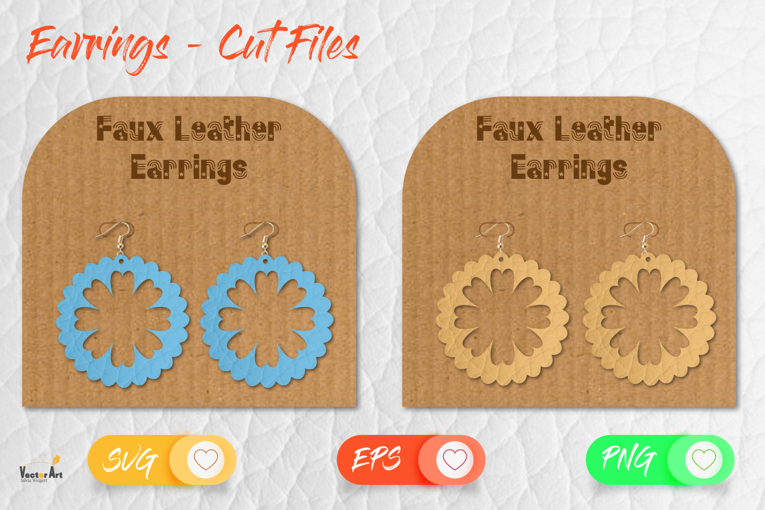 5 Earrings - Mini Bundle - Cut files example image 13