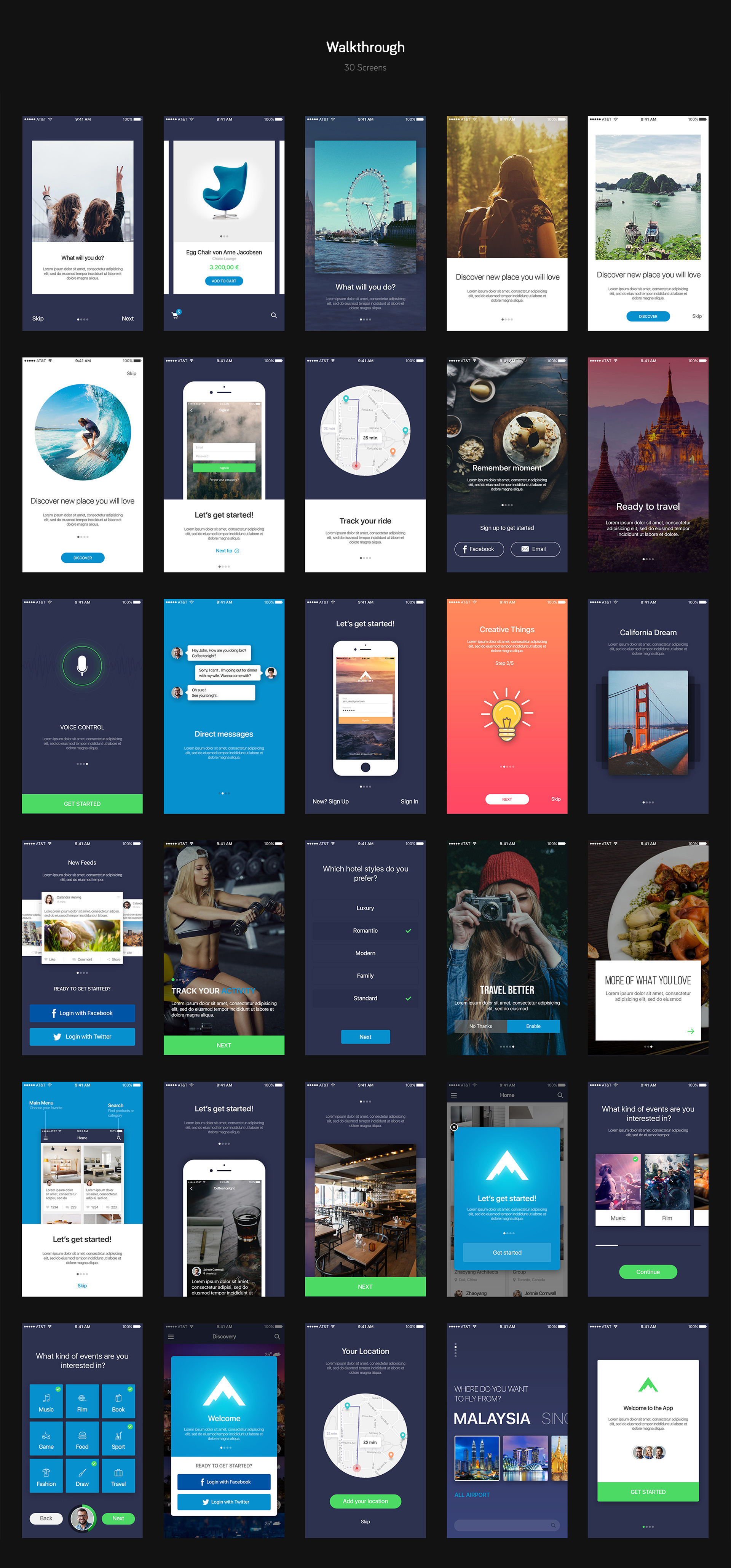 Mountify Mobile UI Kit example image 4
