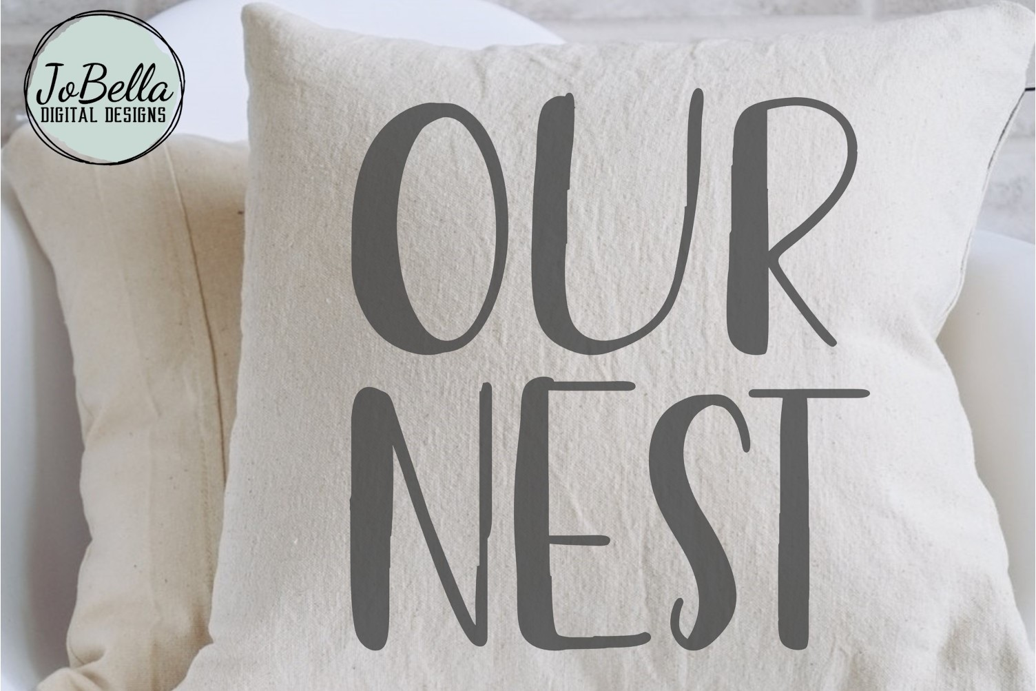 Our Nest SVG and Printable Farmhouse Design example image 2