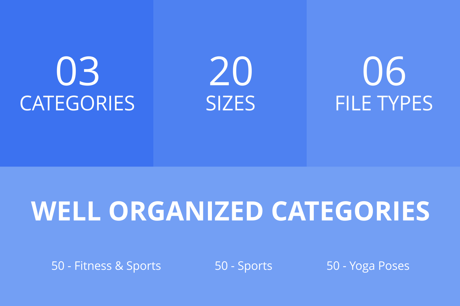 150 Fitness & Sports Filled Line Icons example image 2