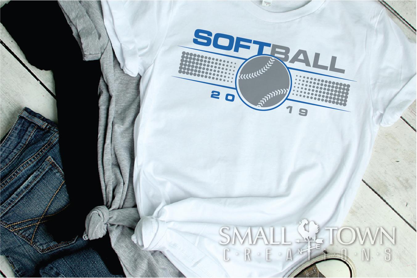 Softball, Ball sport, Sports, Team logo, PRINT, CUT & DESIGN example image 5