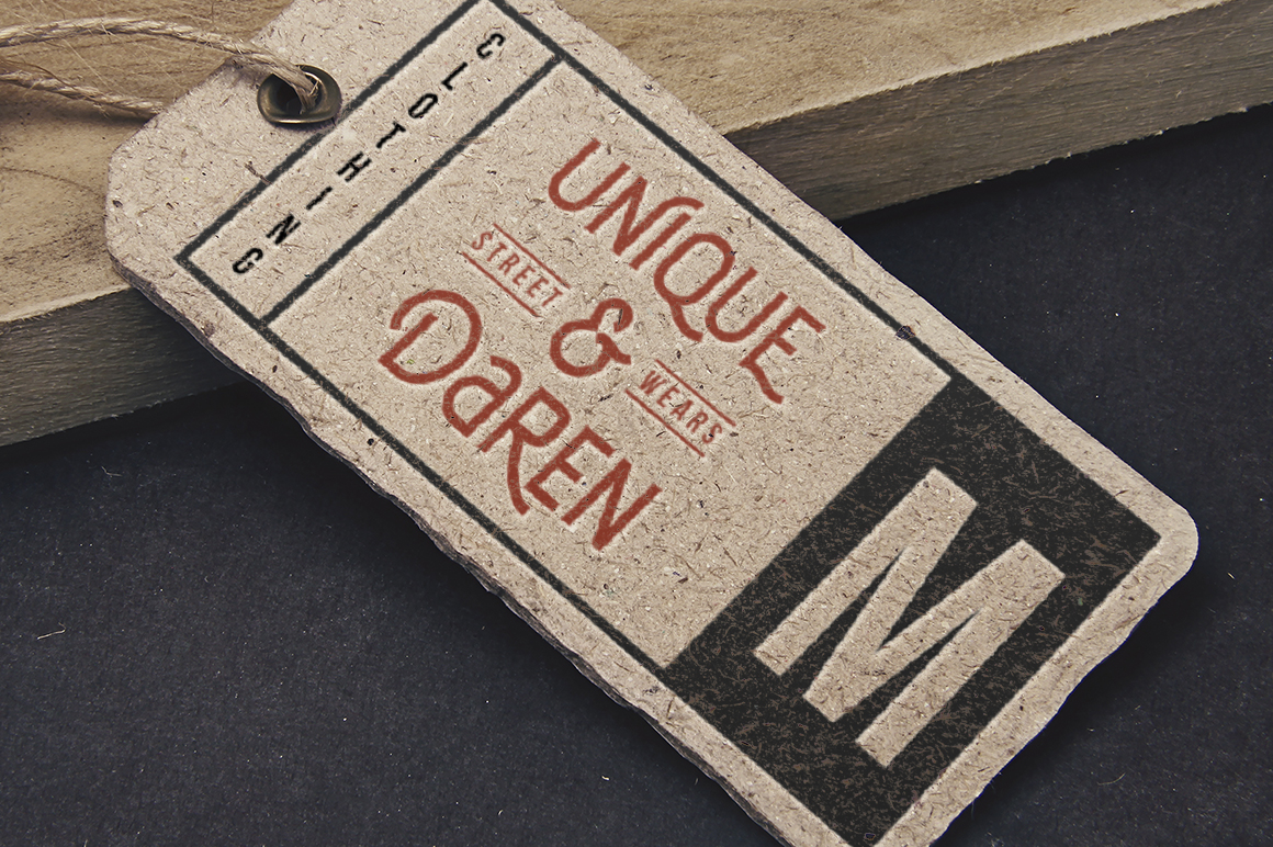 DELFINA - Vintage Sans Serif Font example image 10