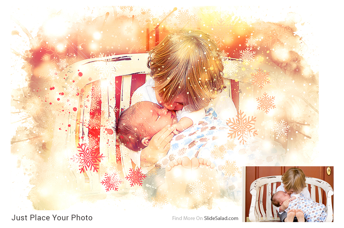 Christmas Photoshop Mock-ups example image 4