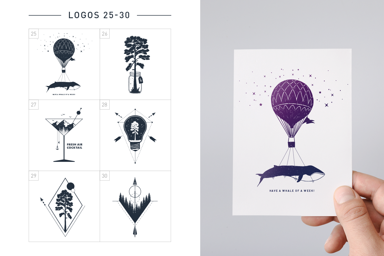 Nordicus. 60 Creative Logos example image 10