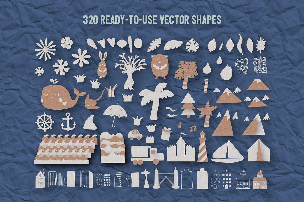 Paper Kingdom For Photoshop example image 13
