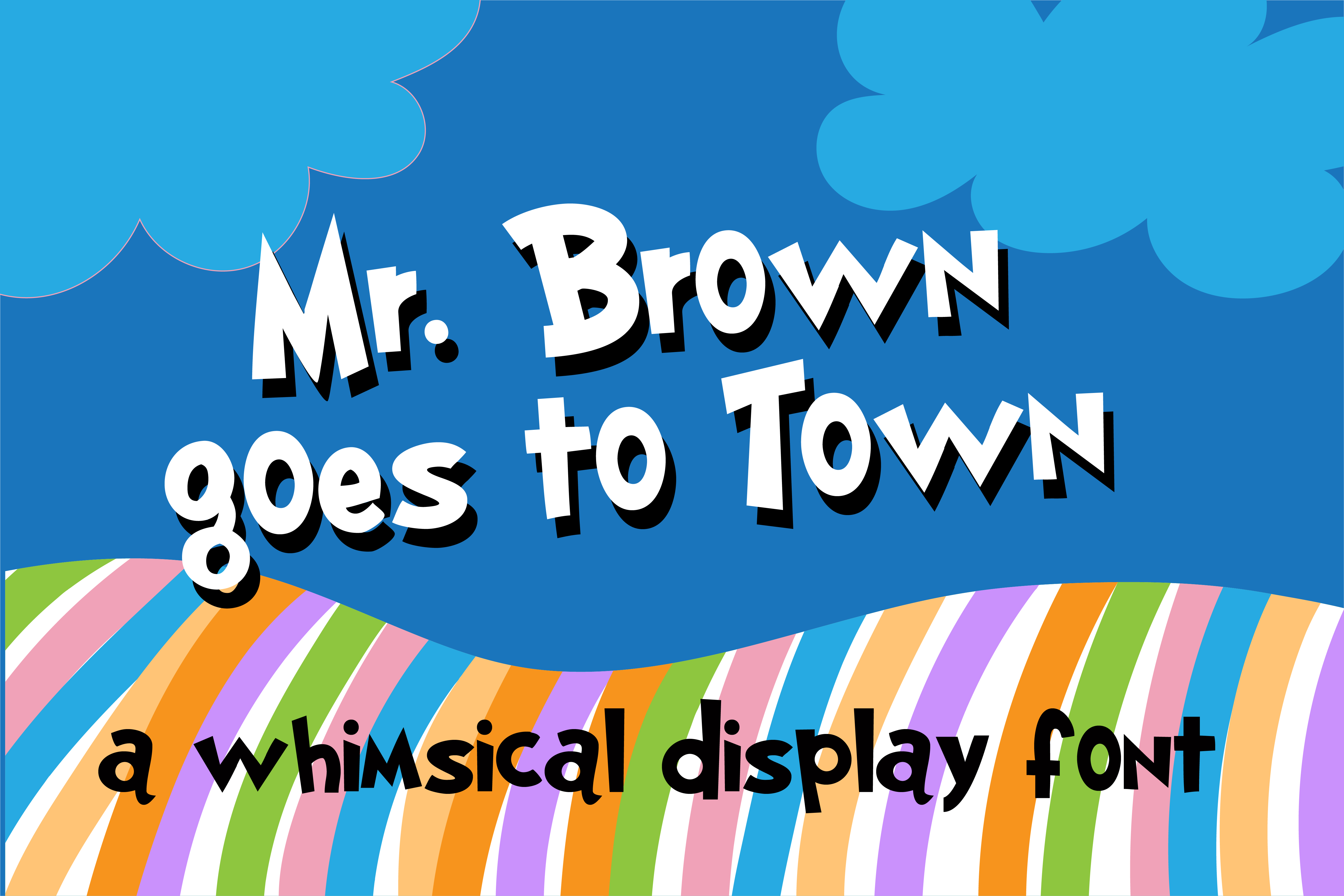 ZP Mr. Brown Goes To Town example image 1
